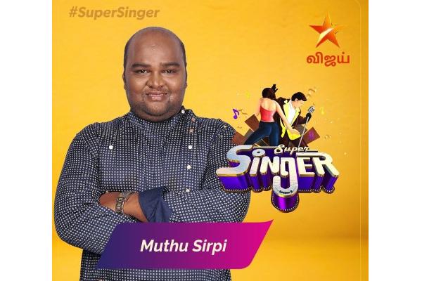 Super Singer 8 Finalists Muthu Sirpi