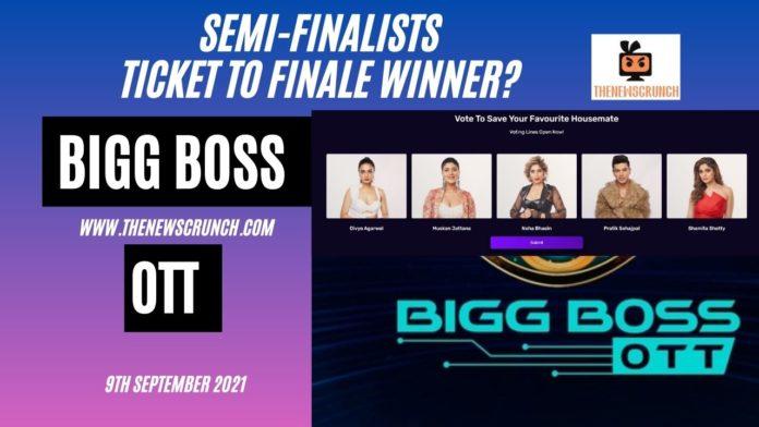 bigg boss ott ticket to finale winner voting