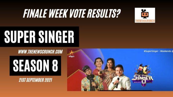 super singer 8 finale week vote results winner