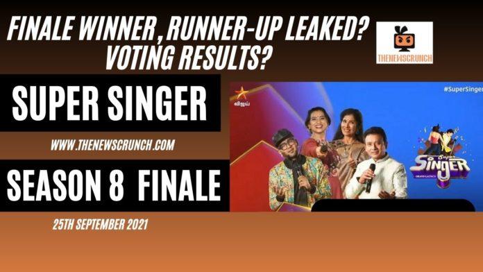 super singer 8 winner runner up grand finale live updates