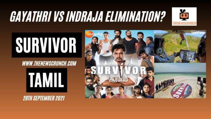 survivor tamil elimination