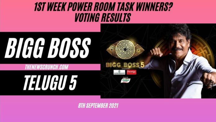 bigg boss telugu 5 voting results 8th september