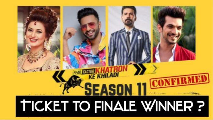 khatron ke khiladi ticket to finale winner