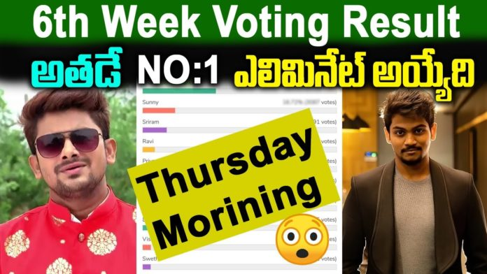 BB5 Telugu voting results