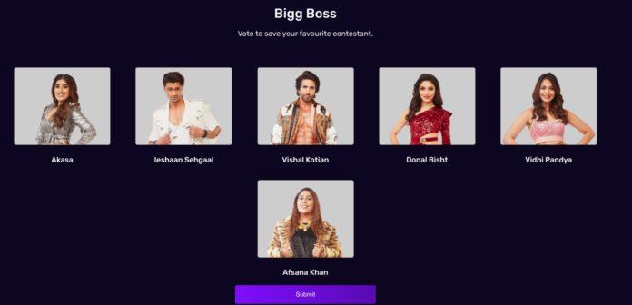 Bigg Boss 15 Vote Week 2