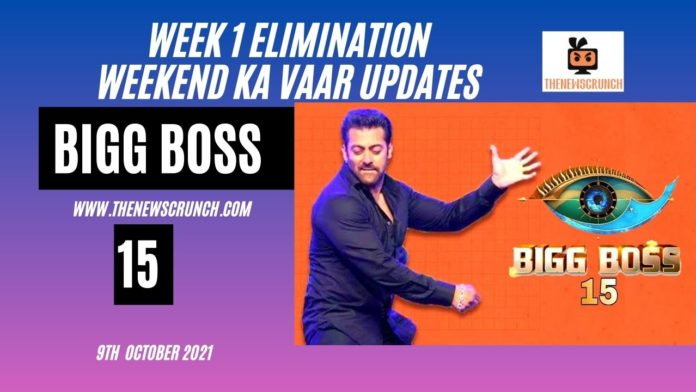 bigg boss 15 first elimination weekend ka vaar 9th october