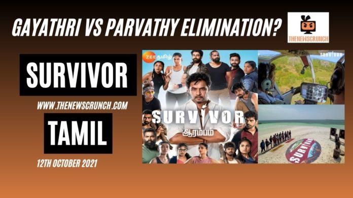 survivor tamil elimination parvathy